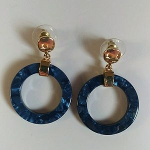 A New Day resin earrings